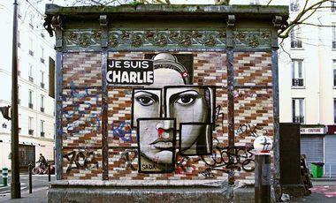 Visuel du projet Le street art et Charlie - La mémoire des murs