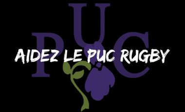Project visual Aidons le PUC Rugby