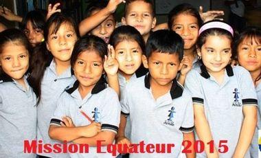 Visueel van project Mission Equateur 2015