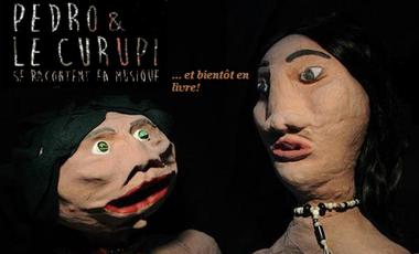 Project visual Pedro y el Curupi, spectacle de marionnettes