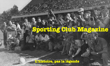 Project visual Sporting Club Magazine