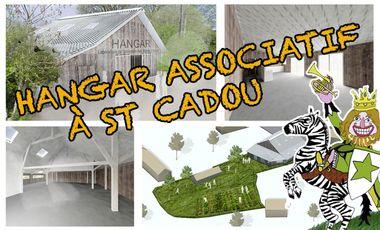 Project visual Un hangar associatif  à Saint-Cadou