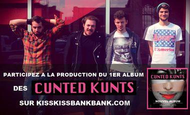 Visuel du projet 1er Album des Cunted Kunts