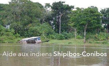 Visueel van project Aide aux indiens Shipibos Conibos