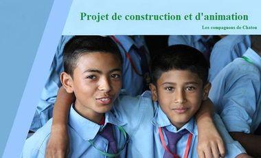 Visuel du projet Projet de solidarité au Népal