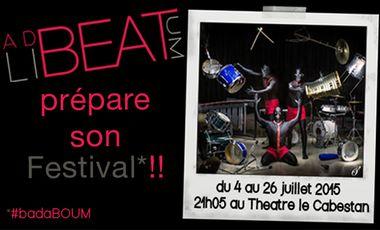 Visueel van project Ad liBEATum au Festival Off d'Avignon