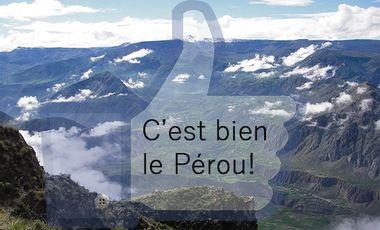 Project visual C'est bien le Pérou !