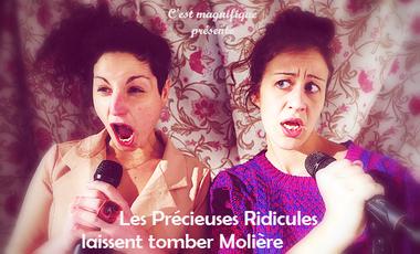 Project visual Les Précieuses Ridicules laissent tomber Molière