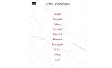 Project visual Brain Connection