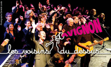 Project visual Les Voisins du Dessus à Avignon !