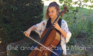 Project visual Une année musicale à Milan