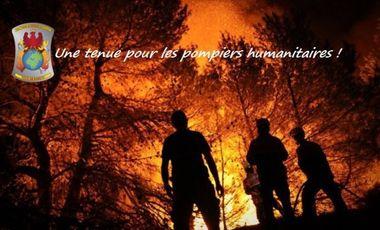 Project visual Une tenue pour les pompiers humanitaires ! Protective equipment for humanitarian firemen !