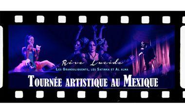 Project visual Tournée artistique au Mexique