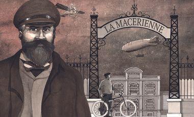 """Visuel du projet """"LA MACÉRIENNE / CLÉMENT-BAYARD : 1 entre-deux"""" (DVD)"""