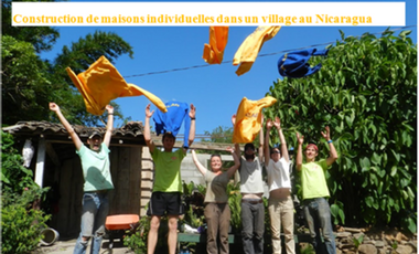 Project visual Construction de maisons individuelles dans un village au Nicaragua