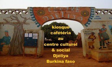 Visuel du projet Kiosque-Cafétéria au centre culturel et social Djéliya