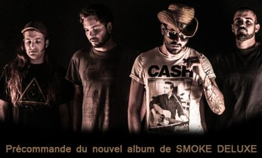 Visuel du projet PRECOMMANDE DU NOUVEL ALBUM DE SMOKE DELUXE