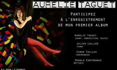 Visuel du projet Aurélie Taguet – 1er album