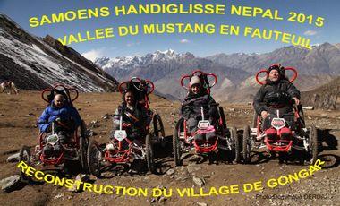 Visuel du projet NEPAL 2015 VALLEE DU MUSTANG EN FAUTEUIL TOUT TERRAIN