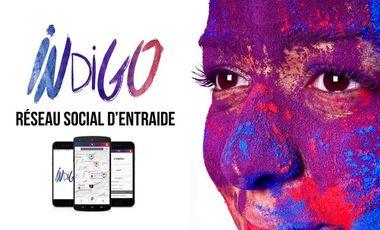 Visuel du projet Indigo -  Réseau Social d'Entraide