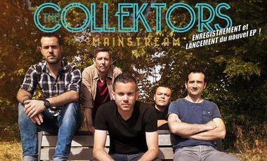 """Visuel du projet The  Collektors - Enregistrement et lancement de l'EP """"MAINSTREAM"""""""