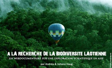 Visueel van project À la Recherche de la Biodiversité Laotienne