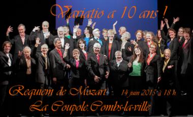 Project visual Variatio fête ses 10 ans avec Mozart