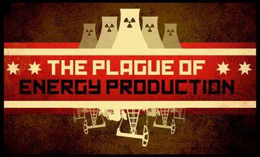 Visueel van project The plague of energy production