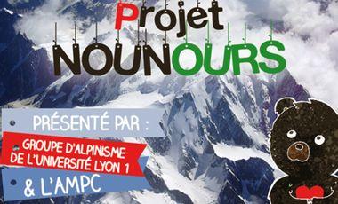 Project visual ''Mon Doudou fait le Mont Blanc!''