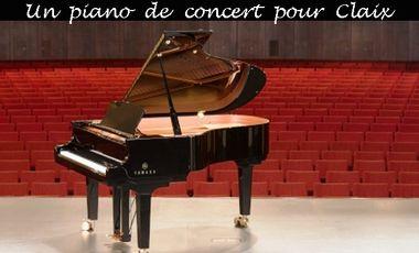Project visual Un piano de concert pour Claix