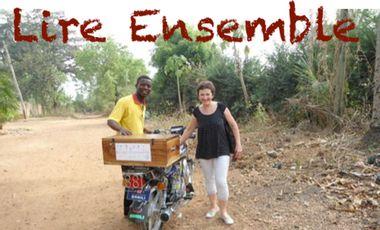 """Project visual """"Lire Ensemble"""" bibliothèque ambulante pour enfants au Togo"""