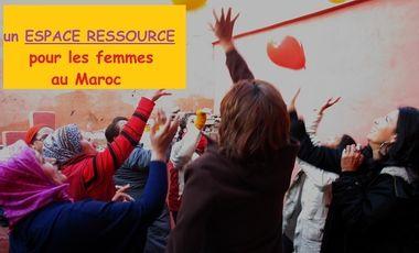Visueel van project l'incubatrice, un espace ressource pour les femmes marocaines