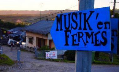 Visueel van project Musik'en Ferme #2 !