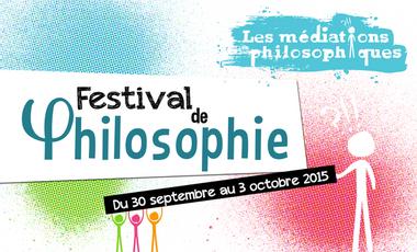 """Project visual Festival de Philosophie """"Les Médiations philosophiques"""""""
