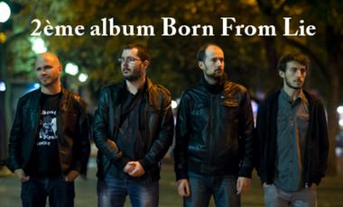 Visueel van project 2ème album BORN FROM LIE
