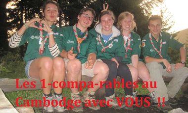 Visueel van project Let's go to Cambodia avec les Compagnons de la 5eme Mulhouse