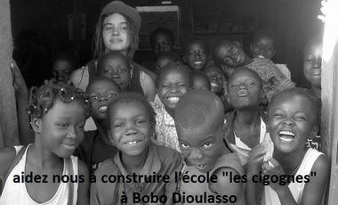 "Project visual Aider nous à construire l'école ""les Cigognes"" à Bobo Dioulasso (Burkina Faso) - Help us to build 'Les cigognes' school in Bobo Dioulasso (Burkina Faso)"