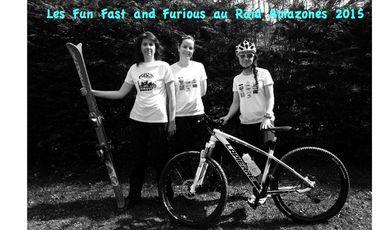 Visueel van project Les Fun Fast and Furious au raid Amazones 2015