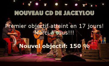 Visuel du projet Aidez nous à réaliser le nouveau CD de Jackylou pour les petits !