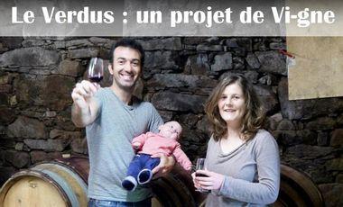 Project visual Le Verdus, un projet de vi-gne.
