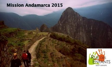 Visueel van project Mission Andamarca 2015