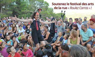 """Visuel du projet Soutenez le festival des arts de la rue """"Roulez Carros !"""""""