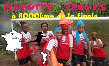 Project visual Futsal Féminin UNSS : Mayotte - Troyes, à 8000kms de la finale !