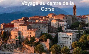 Project visual Voyage au centre de la Corse