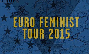 Visuel du projet EuroFeminist Tour