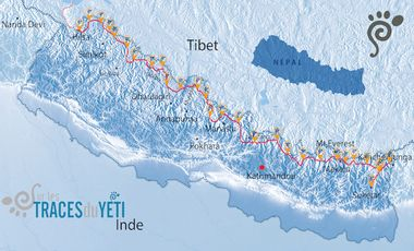 Visueel van project Sur les traces du Yéti