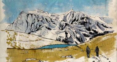 Project visual Un trek au Népal : carnet de voyage...