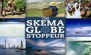 Visueel van project Skema Globe Stoppeur