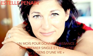 Visueel van project Premier single + clip d'Estelle Penain