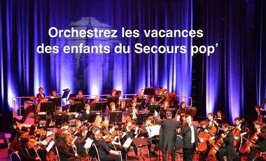 Visueel van project Orchestrez les vacances des enfants du Secours pop'